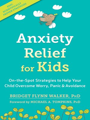 cover image of Anxiety Relief for Kids